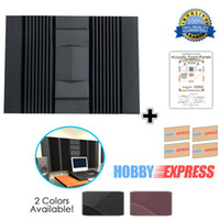 adhesive foam insulation - New Set Wall Insulation Kit Acoustic Sound Absorption Studio Soundproof Foam x90x7 cm x35 x2 in Colors KK1048