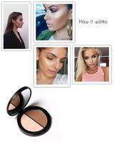 Wholesale Beauty Makeup Face Concealer Makeup Blush Bronzer Highlighter Diff Color Concealer Bronzer Palette Comestic Make Up by Focallure