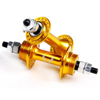 Wholesale Hot Sales Coaster Brake Hub Fixed Free Gear Bike Bicycle Hubs Front Rear Set Hole