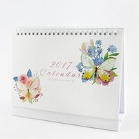 Wholesale quot Mystery Butterfly quot Oct to Dec Desk Calendar Big Size Beautiful Scheduler Agenda Monthly Planner Checklist Memo Notebook Gift