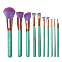 glam - Presale NEW Spectrum Brushes Mermaid Dreams Piece Vegan Brush Set Glam Clam Case Pink Color VS Hello kitty Brush sets