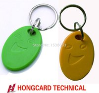 Wholesale 125Khz RFID Proximity ID Card Token Tags Key Keyfobs for Access Control Patrol Time Clock Attendance Business card Bus Highway