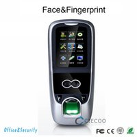 Wholesale ZK software Iface Biometric Face Time Attendance and Face Access Control with Build in fingerprint and ID card Reader Free shiping CE FCC