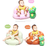 baby bath seat - Baby Sofa Inflatable Kids Learn stool Training seat Bath Dining Chair PVC Seat Bath Chair baby Bath seat Dining Chair PVC Seat LJJK444