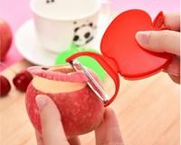 apple fruit prices - Factory Price Beautifully foldable apple shaped fruit peeler fruit skin is peeled potatoes planing planing knife planer
