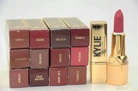 Wholesale HOT New Makeup Kylie Matte Lipstick g colors English name