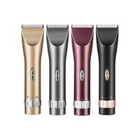 barber set clippers - ePacket Professional Barber Clippers Electric Hair Clippers Hair Trimmers Hair Cut Kit Comes with Two Lithium Batteries Cordless Clippers