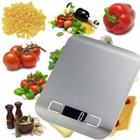 Wholesale New Arrive Kitchen Scale Cooking Measure Tools Stainless Steel Electronic Weight LED Household Scales