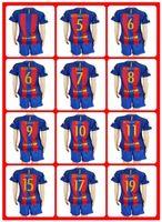Wholesale Hot Sell Uniforms Kits Women s soccer Jersey Suarez Messi Neymar JR Barcelona Arda Xavi Home Red Stripe Women Jerseys