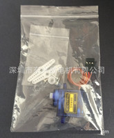 airplane wing parts - SG90 Aeromodelling Airplane Micro Servo Intelligent Robot Steering Engine Steering Gear Brushless Motor Parts for Fixed Wing Helicopter
