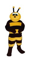 baby bee costumes - Brave Baby Bee Mascot Adult Costume for Sale Cartoon Hornet Theme Anime Cosply Costumes Mascotte Carnivcal Fancy Dress Kits