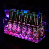 Wholesale led bucket chiller placas stainless steel whiskey stones glass wine rack whiskey rocks stainless ice cube whisky ice stones ice cube D14