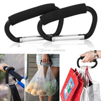 Wholesale By Mummy Clip Pram Pushchair Shopping Bag Hook Carabiner Holder Black L00071 SPDH