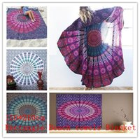 bedspreads throws - Rectangle BeachTowel Blanket Indian Mandala Tapestry Hippie Hippy Wall Hanging Throw Bedspread Dorm Tapestry Decorative Wall Hanging BKT065