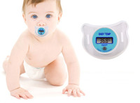 adult baby pacifier - years pacifiers for babies Baby Care Portable Digital LCD pacifier thermometer baby nipple soft safe Mouth Thermometer