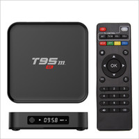 Wholesale Android Tv Box T95M GB GB Optional Built in G WiFi Amlogic S905X KODI Android Quad Core H K media player