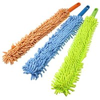 Wholesale Best Selling Flexible Chenille Bendable Microfiber Cleaning Duster Brush Random Color