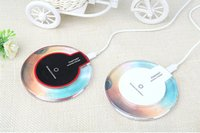 Wholesale Hot Sale Luxury Qi Wireless Charger Charging Pad Mini for Samsung S6 S6 Edge iPhone PLUS HTC Nokia etc US02
