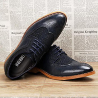 antique print dress - In the new style carved antique wedding dress oxfords shoes leather men s leather shoes