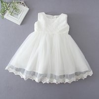 no brand baptism dress - Newest Infant Baby Girl Birthday Party Dresses Baptism Christening Easter Gown Toddler Princess Lace Flower Dress for Years