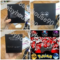 bank rope - Pokémon Go Ball Power Bank Magic Ball Charger Power Banks LED Light With Rope mAh Portable Charger Appl SamsungS6 S7 edge