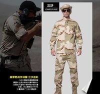Wholesale Black Military uniform combat uniform Combat BDU Uniform military uniform bdu hunting suit Only jacke amp pants colors