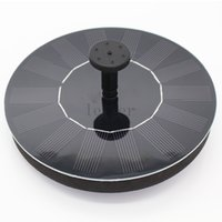 Wholesale pieces New Solar Panel Garden Water Fountain Floating Submersible Pump For Outdoor XQ0140