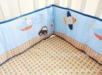baby boy nursery bedding set - Promotion Car Baby Crib Cot Bedding Set Blanket Bumper Sheet for boys Nursery Bed Kit bumper duvet bed cover