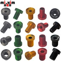 Wholesale mi Xim Aluminum Alloy M12 Spline Axis Screw ES25 Spline Axis Crankset Screw mm