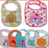baby cloths cheap new - New baby bibs Burp Cloths Baby Feeding baby clothes baby towels cottonBaby Accessories boys girls Waterproof bib Cheap