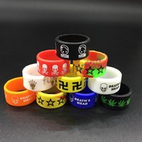 Wholesale silicone ring mm silicone rubber vape band ring for Mods rda Sub Ohm RBA RDA Tank protection vape Non Slip rubber band