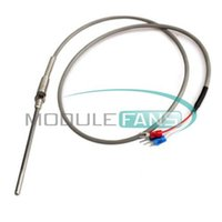 Wholesale M High Temperature Cable PT100 RTD with mm Thread Thermometer Sensor Degree Celsius