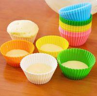 Цветущие инструменты RU-DIY смешанный цвет силиконовые формы для выпечки прессформы торта влюбленности сердца / розы / Star / Circle торт в форме Инструменты B Brand New хорошее качество Бесплатная доставка