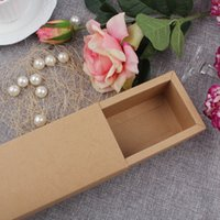 Cheap wholesale Vintage Wedding Invitation Cards Drawer Boxes Jewelry Box Party Invitation Card Packing Bag Craft Gift Bags