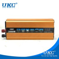 used refrigerators - UKC KW W DC V to AC V Car Vehicle USB Power Inverter Adapter Converter for vehicle refrigerator electrocar use