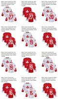 team canada jerseys - Men s world cup of hockey olympics game Canada Team Alex Pietrangelo John Tavares Jonathan Toews Joe Thornton Ryan Getzlaf jersey