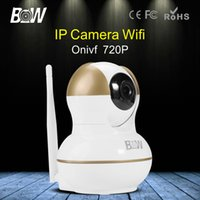 android wireless sensor network - BW HD P WiFi Camera IP CCTV P2P Network Surveillance Wireless Security Camera for Phone Android IOS Onvif2 with Door Sensor