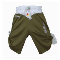 Bowling Others Men Wholesale-MMA Muay thai boxing short MMA fight shorts jogo roupas pantalon boxeo kick Boxing pants Trunks Yellow red greenS-XXL