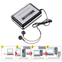audio tapes music - Super Portable Tape to iPod MP3 CD USB Cassette Capture Converter Audio Music Player E0Xc BS1V Adapter With Retail Box