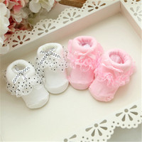 baby does - Socks Children Socks Lace Socks Babies One Month One Hundred Days Princesses Dresses Babies Lace Socks Pink And White Does Not Fade