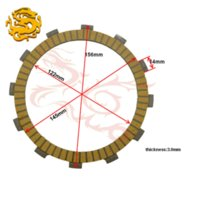 Wholesale Motorcycle Parts Clutch Friction Plates Kit For Kawasaki VN900 VN Vulcan Classic CP