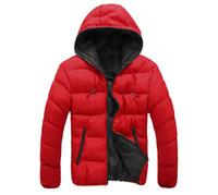 Wholesale Winter men jackets jacket warm coat Mens Coat Brand Sport Jacket Winter Down Parkas Man s Overcoat Size M XL