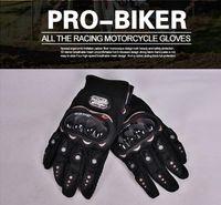 Wholesale Gloves in summer for Motorlist Motorcycle Gloves Bicycle GLOVES Off road Motorcycle Racing colour blue red Black