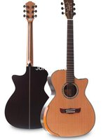 Wholesale Kaspar K700 inch pine rosewood acoustic guitar fingerstyle by hand tool