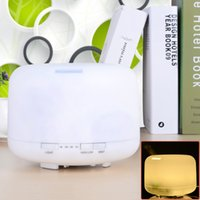 Wholesale high quality Ultrasonic in USB LED Fragrance Lamp Humidifier White cm convenence for home or office