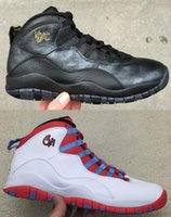 Wholesale New Retro s NYC CHI City Pack Top quality BLACK Chicago Men Size Basketball Shoes sneakers shoes