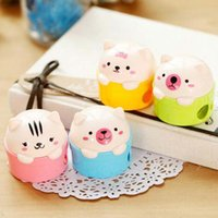 Wholesale 5pcs Bear Pencil Sharpener For School Kid s Prize Holiday Fashion Gift Practical Stationery Material Escolar
