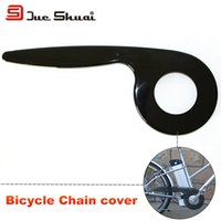 bicycle chain length - MTB Road Bicycle T Film Chain Cover Cleaner Protector Bicycle Parts cm Length Black Guide Cover Ring Belt Box Cycling Parts