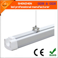 Wholesale CE RoHS VDE TUV UL W mm lm IP65 waterproof white K Tri proof led light tube bulb lamp