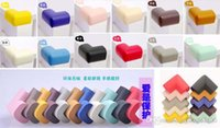 angled door stop - Colorful Baby care safety corner Children Safety Accessorie Baby Desk edge Angle Protection Pad Anticollision stop door